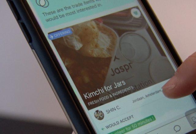 Jaspr Trades ruil app