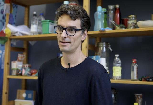 Jeroen Dagevos van de Plastic Soup Foundation