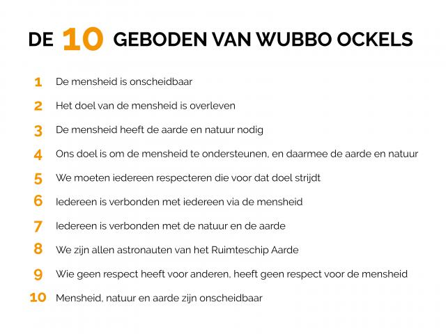 10 geboden Wubbo Ockels