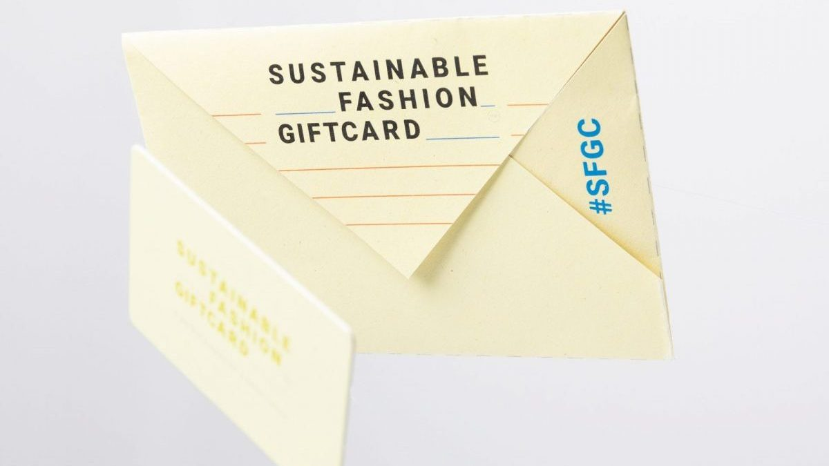 Duurzame mode Sustainable Fashion Gift Card